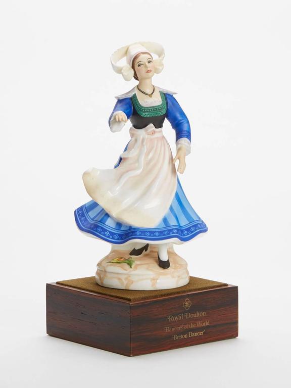 English Royal Doulton Breton Dancer Figurine 1981 For Sale