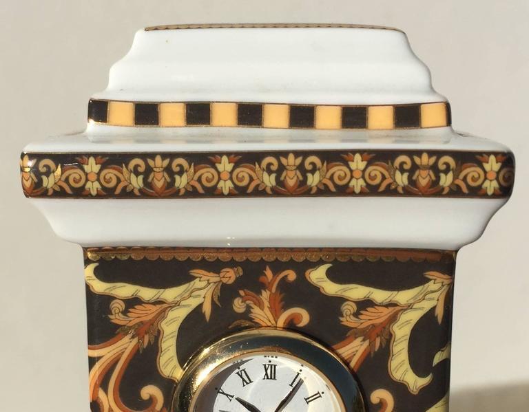 Versace mantel clock