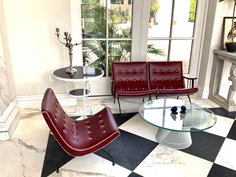 Painted Scoop Lounge Chairs For Sale