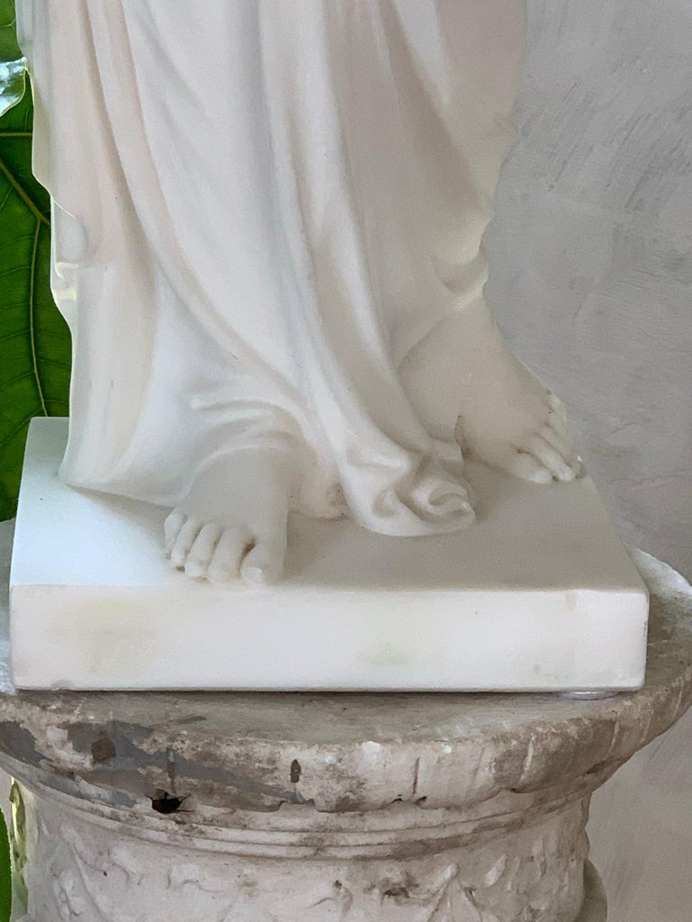 Marble Statue of Hebe For Sale 6