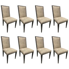 Eight Dining Chairs by Artistic Frame