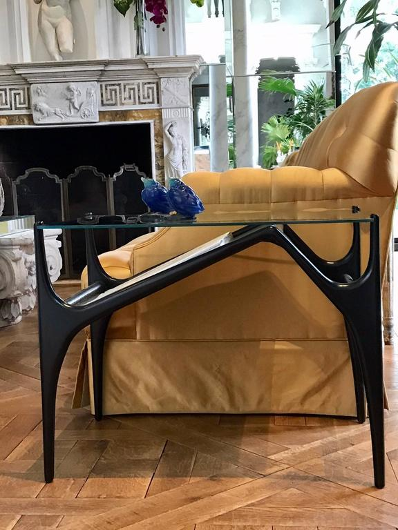 Pair of Mid-Century Modern End Tables In Excellent Condition For Sale In Manchester, MA