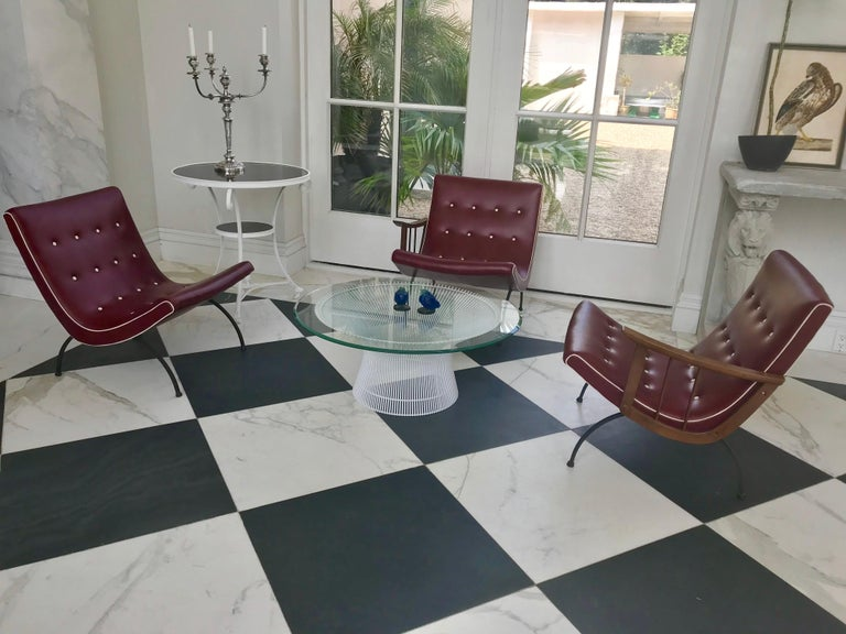 Mid-Century Modern Scoop Lounge Chairs For Sale