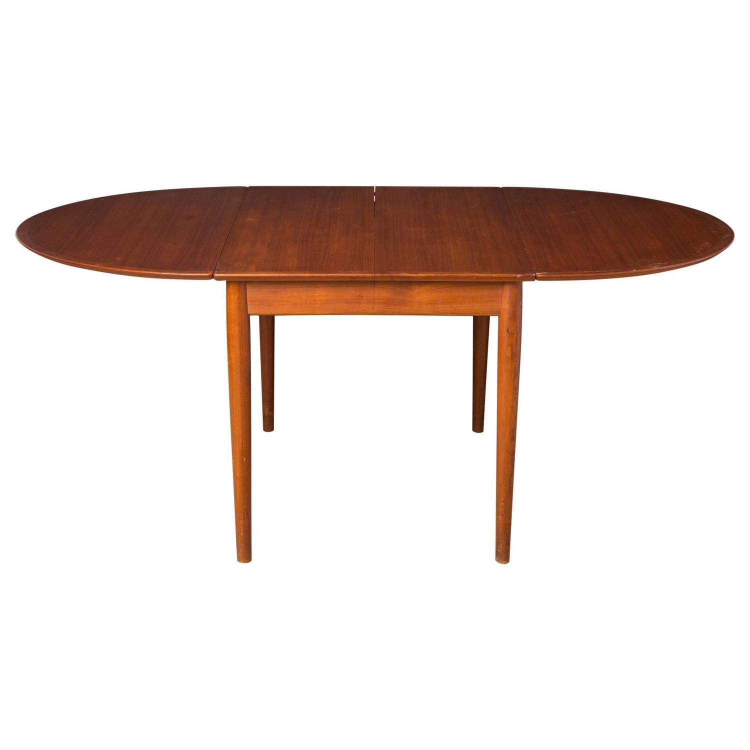 Arne vodder for sibast expandable dining or game table for Dining room game table