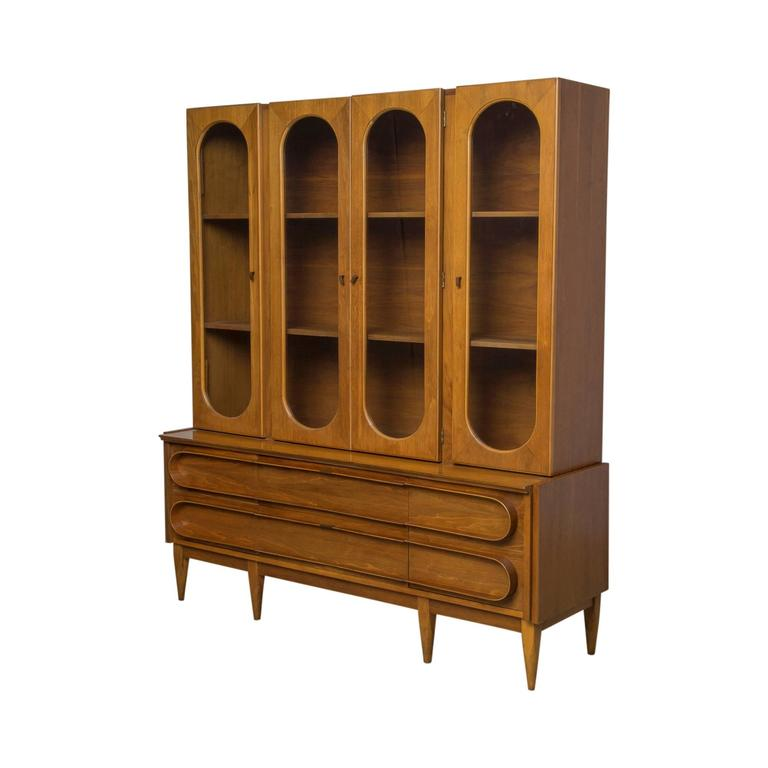 swedish modern china cabinet in the style of edmond spence on sale 1