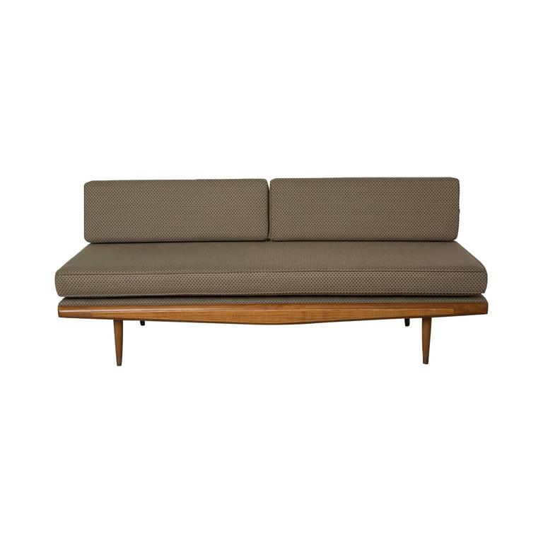 Daybed Or Sofa Bed Conversion Settee In The Style Of