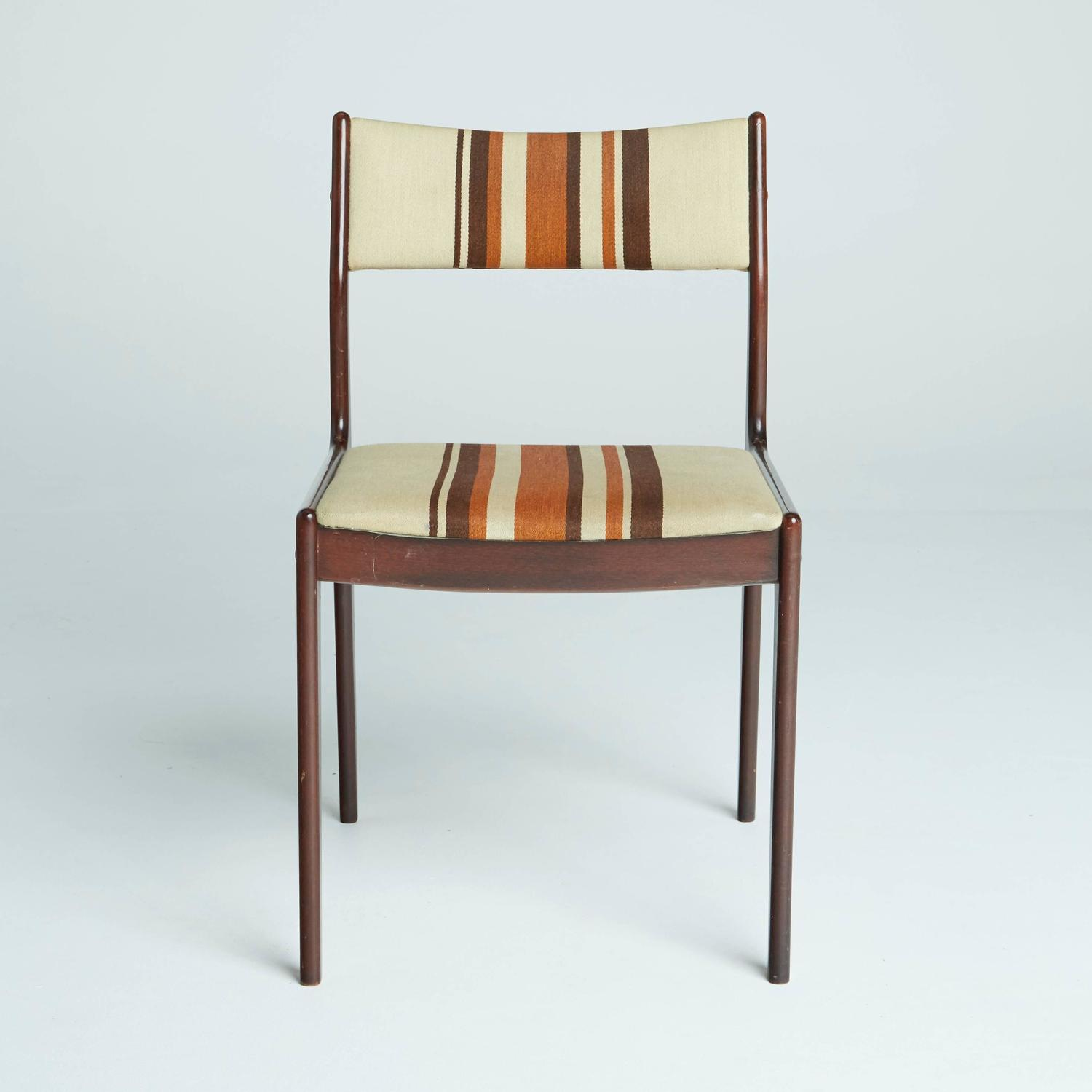Danish modern dining chairs circa 1960s for sale at 1stdibs for Modern dining room chairs for sale