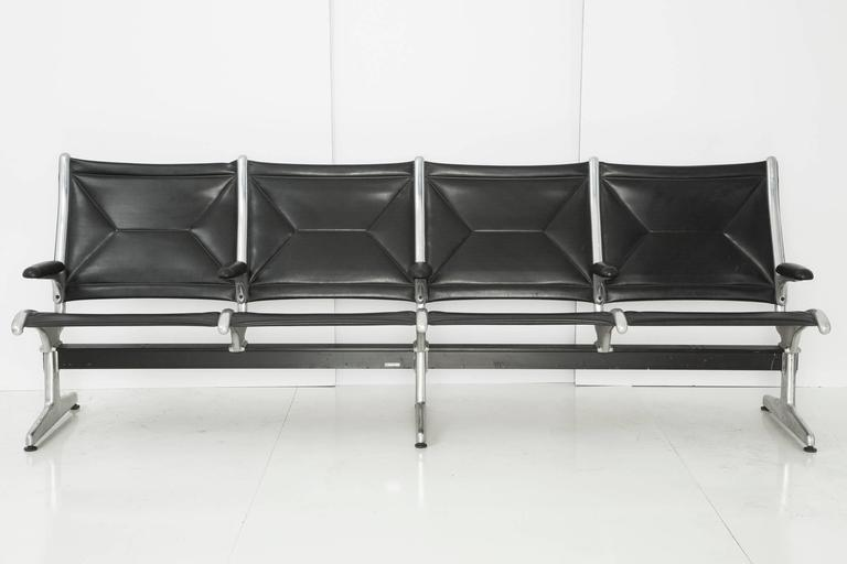 Ray and Charles Eames were commissioned to design the perfect utilitarian seating for the first international airports in 1962, created for comfort and convenience. For the modern-day eclecticists and discerning collectors, these pieces are