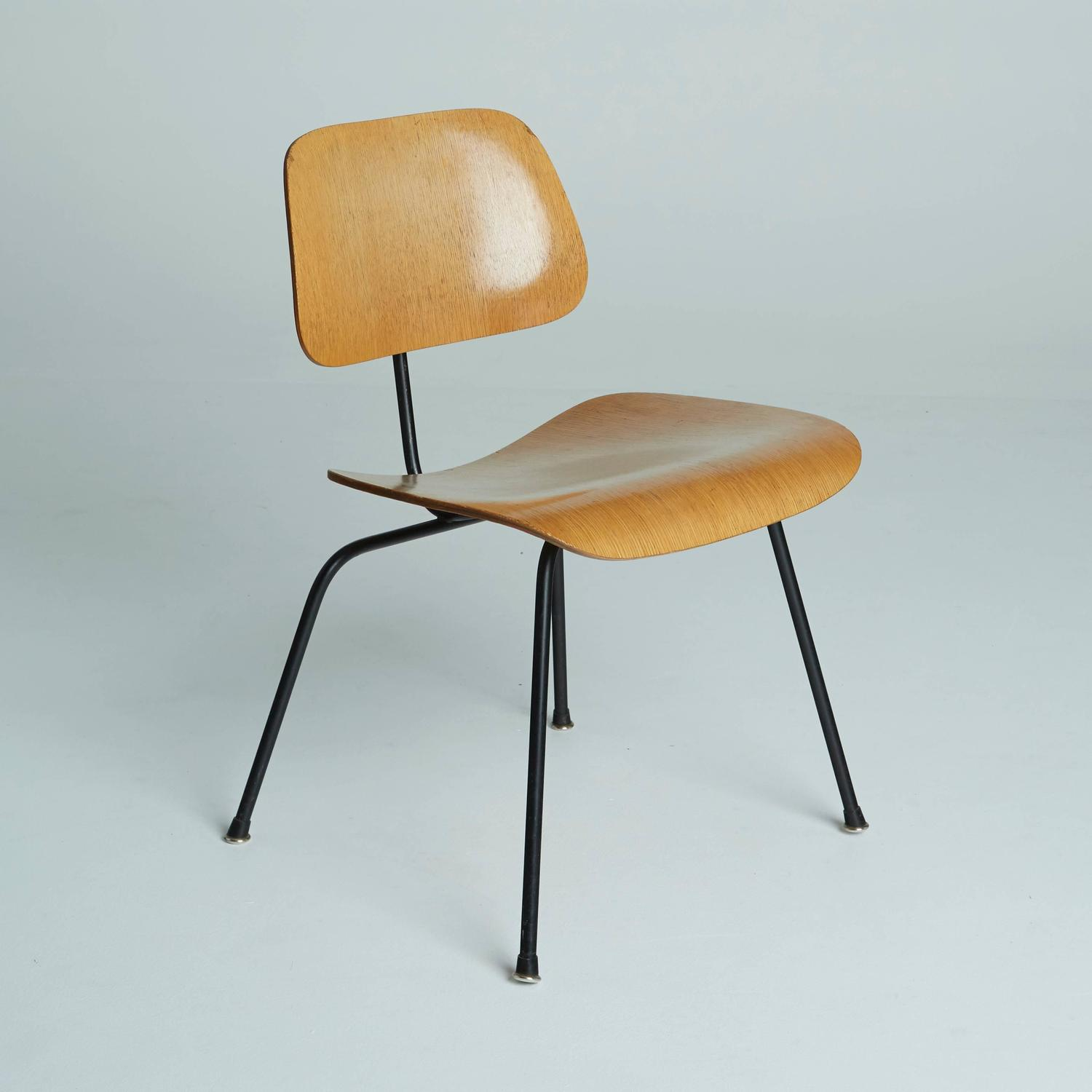 dcm chairs by charles eames for herman miller circa 1950 at 1stdibs