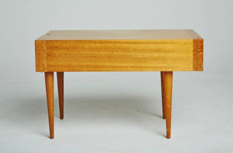 Paul Laszlo For Brown Saltman Light Ribbon Mahogany Side Table At 1stdibs