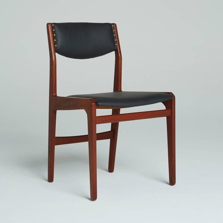 danish modern dining chairs by illums bolighus for sale at 1stdibs