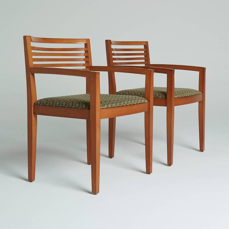Pair Of Armchairs By Joseph And Linda Ricchio For Knoll