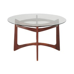 Walnut Dining Table by Adrian Pearsall for Craft Associates, Circa 1960