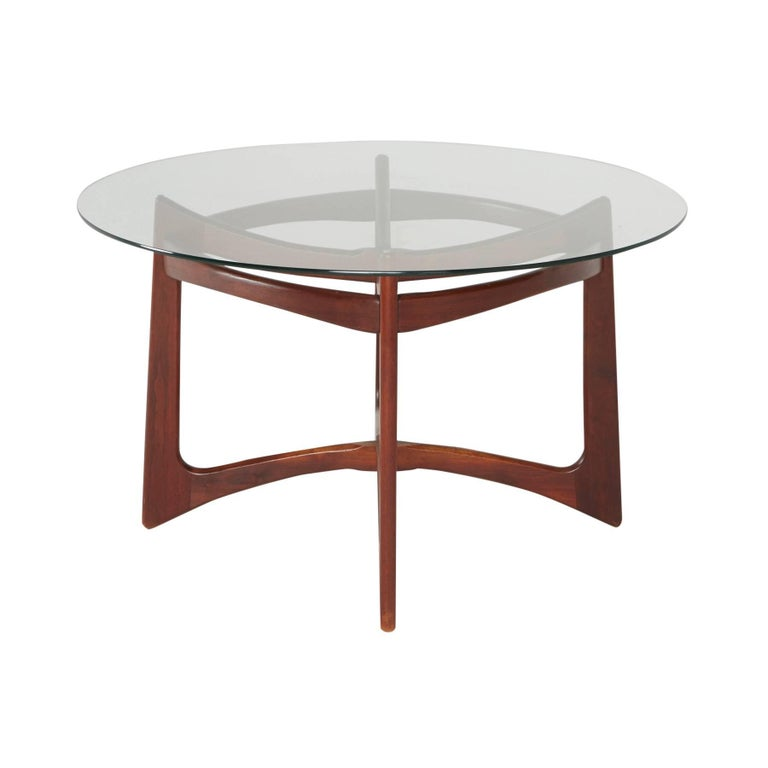 Walnut Dining Table by Adrian Pearsall for Craft Associates, Circa 1960 For Sale