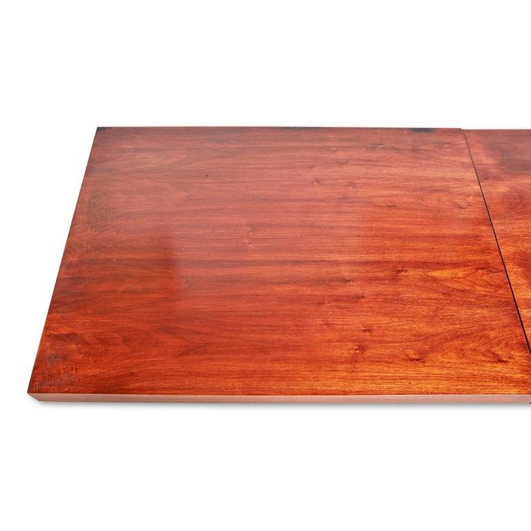 Mid Century Coffee Table John Keal For Brown Saltman At: John Keal Walnut Extendable Coffee Table For Brown Saltman