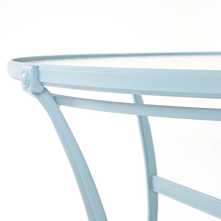 Brown Jordan Aluminum Outdoor Dining Table, circa 1960 In Excellent Condition For Sale In Los Angeles, CA
