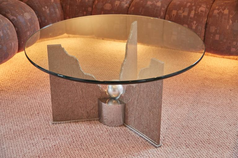 Modern Custom Memphis Coffee Table by Steve Chase from Chase Designed Home, Circa 1980 For Sale
