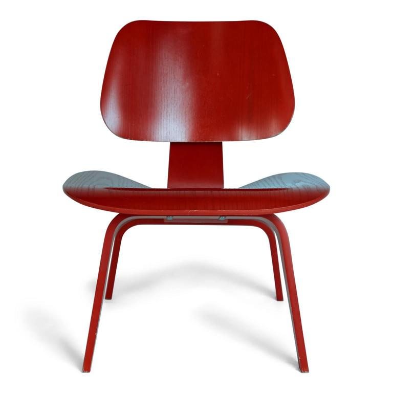 charles and ray eames lcw lounge chair for herman miller set of two