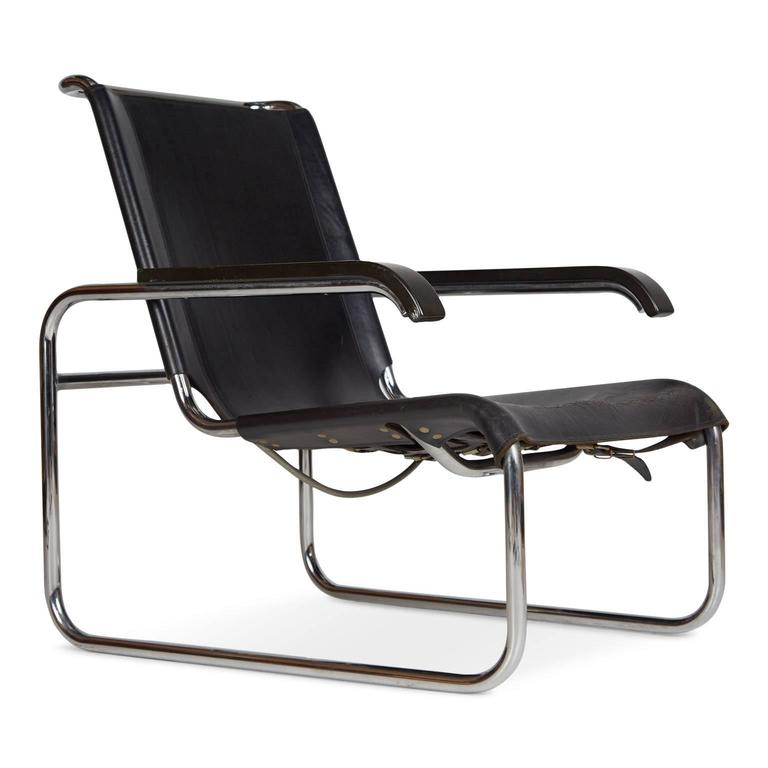 Merveilleux Bauhaus Pair Of Thonet B35 Lounge Chairs By Marcel Breuer, Circa 1960 For  Sale