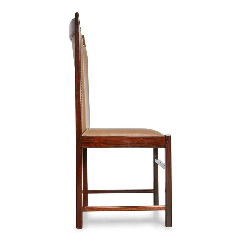 Mid-Century Modern Celina Moveis Brazilian Rosewood Dining or Side Chair, circa 1960