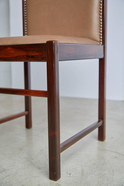 Mid-20th Century Celina Moveis Brazilian Rosewood Dining or Side Chair, circa 1960