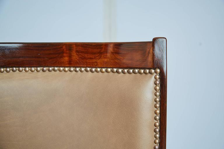 Bronze Celina Moveis Brazilian Rosewood Dining or Side Chair, circa 1960
