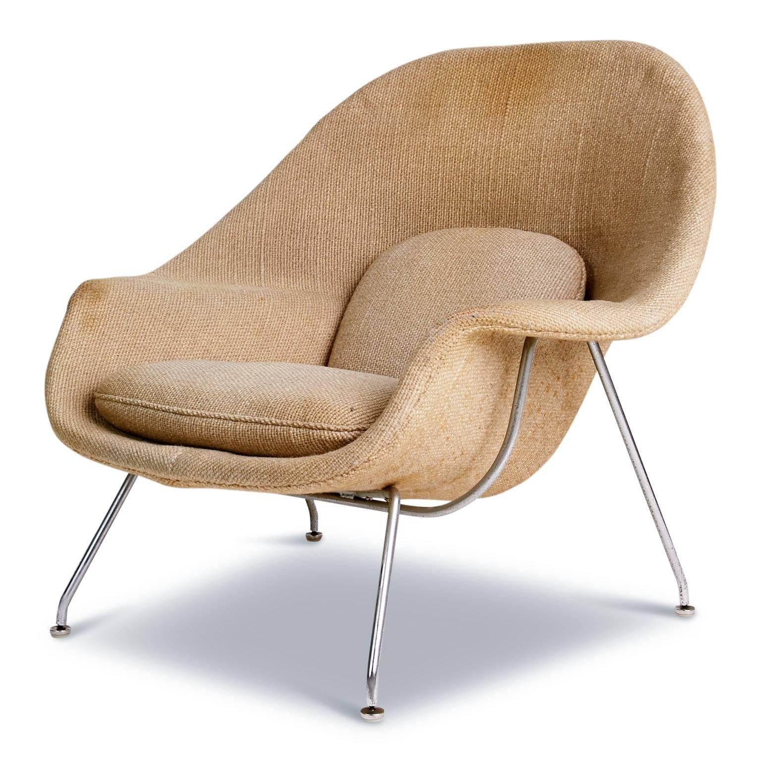 This Rare First Generation Model 70 Chair, More Commonly Known As The Womb  Chair,