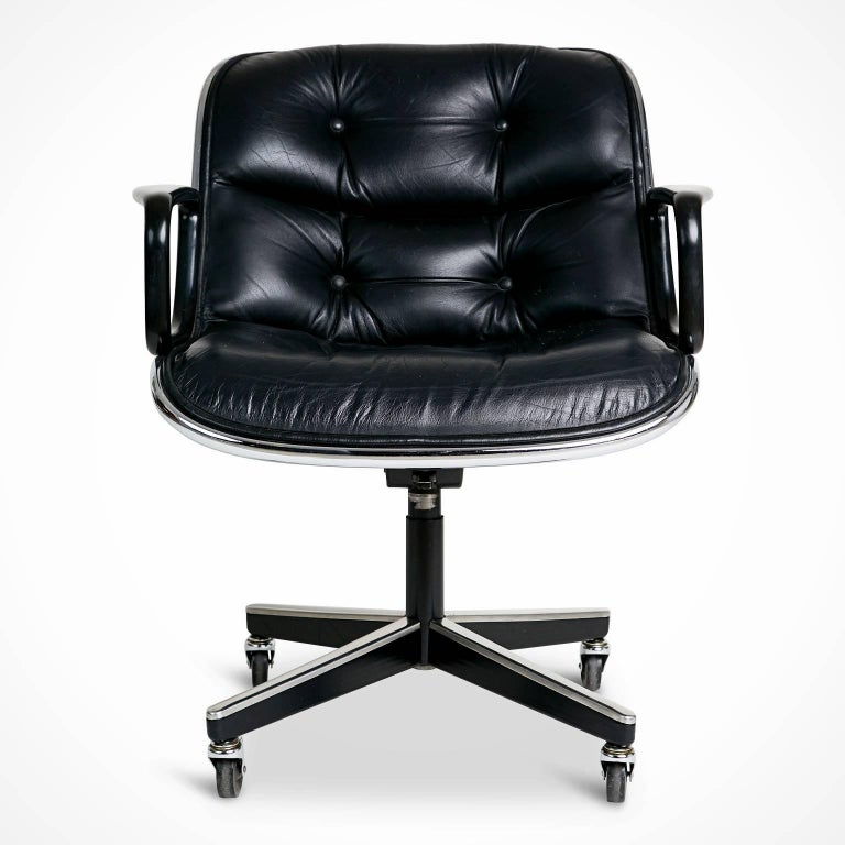 Knoll first introduced these executive office chairs in 1965 and since then they have become a recognized staple for professional interiors and home workspaces alike. These timeless chairs are still in production today and have met demand due to