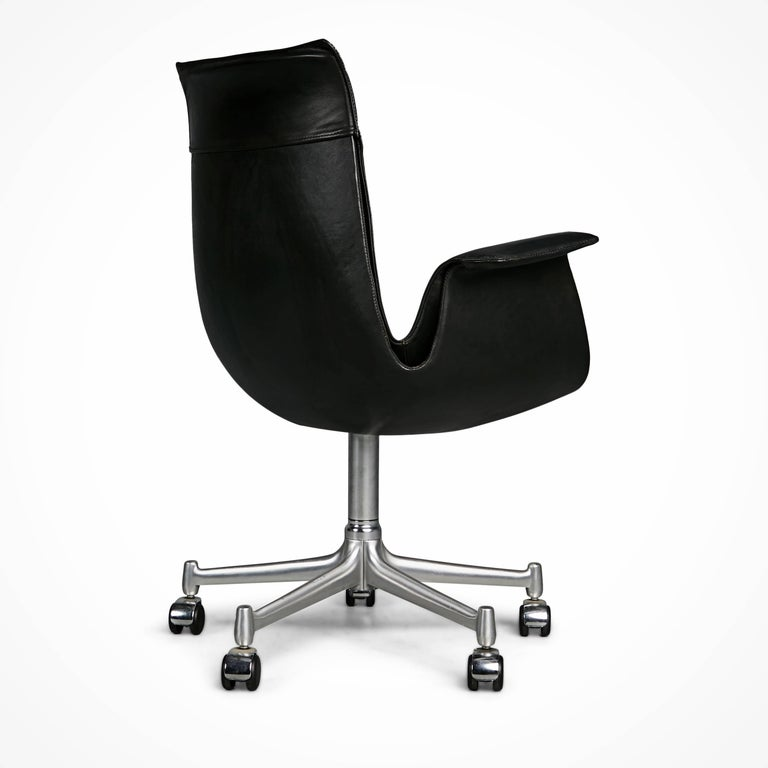 Mid-20th Century FK 6727 Bird Chairs by Preben Fabricius & Jørgen Kastholm for Alfred Kill Int. For Sale