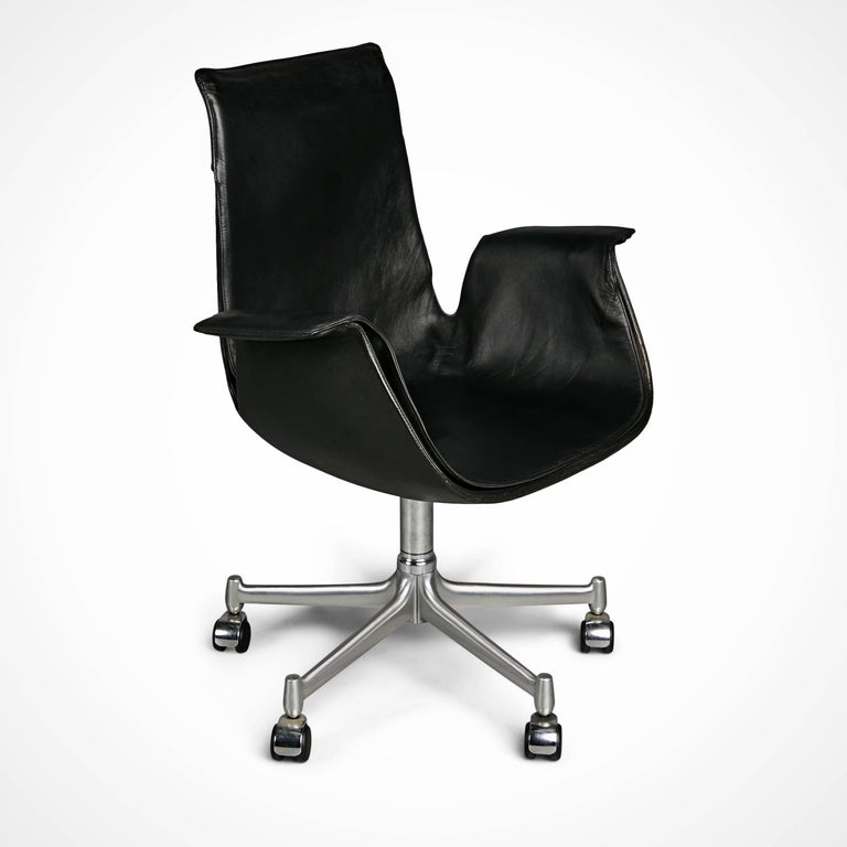 FK 6727 Bird Chairs by Preben Fabricius & Jørgen Kastholm for Alfred Kill Int. For Sale 3
