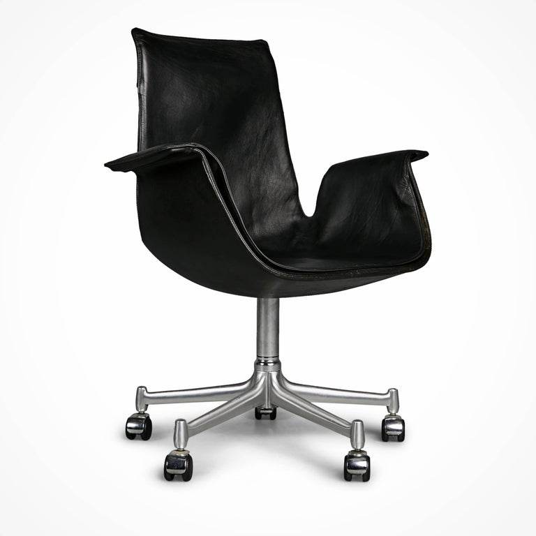 German FK 6727 Bird Chairs by Preben Fabricius & Jørgen Kastholm for Alfred Kill Int. For Sale