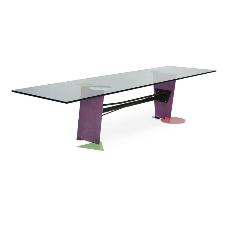 Peter Shire Memphis Post-Modern Coffee Table Produced In