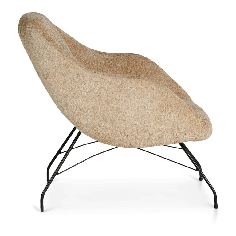 Mid-Century Modern Martin Eisler and Carlo Hauner Scoop Chair for Forma, Brazil, circa 1960 For Sale