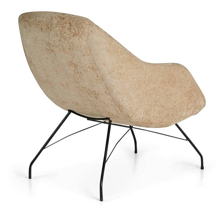 Brazilian Martin Eisler and Carlo Hauner Scoop Chair for Forma, Brazil, circa 1960 For Sale