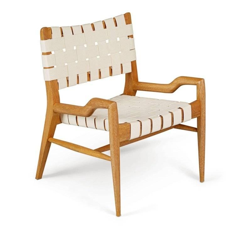 Mid-Century Modern Pair of John Keal for Brown Saltman Sculptural Lounge Chairs, circa 1954 For Sale
