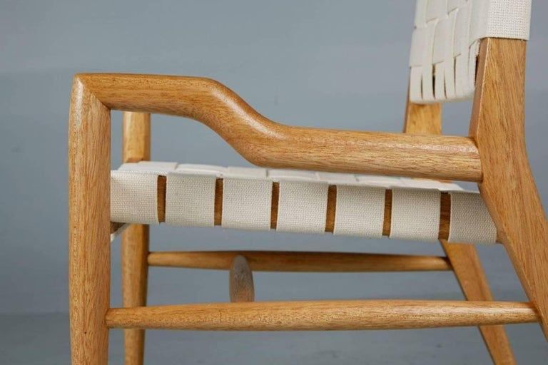 Pair of John Keal for Brown Saltman Sculptural Lounge Chairs, circa 1954 For Sale 1