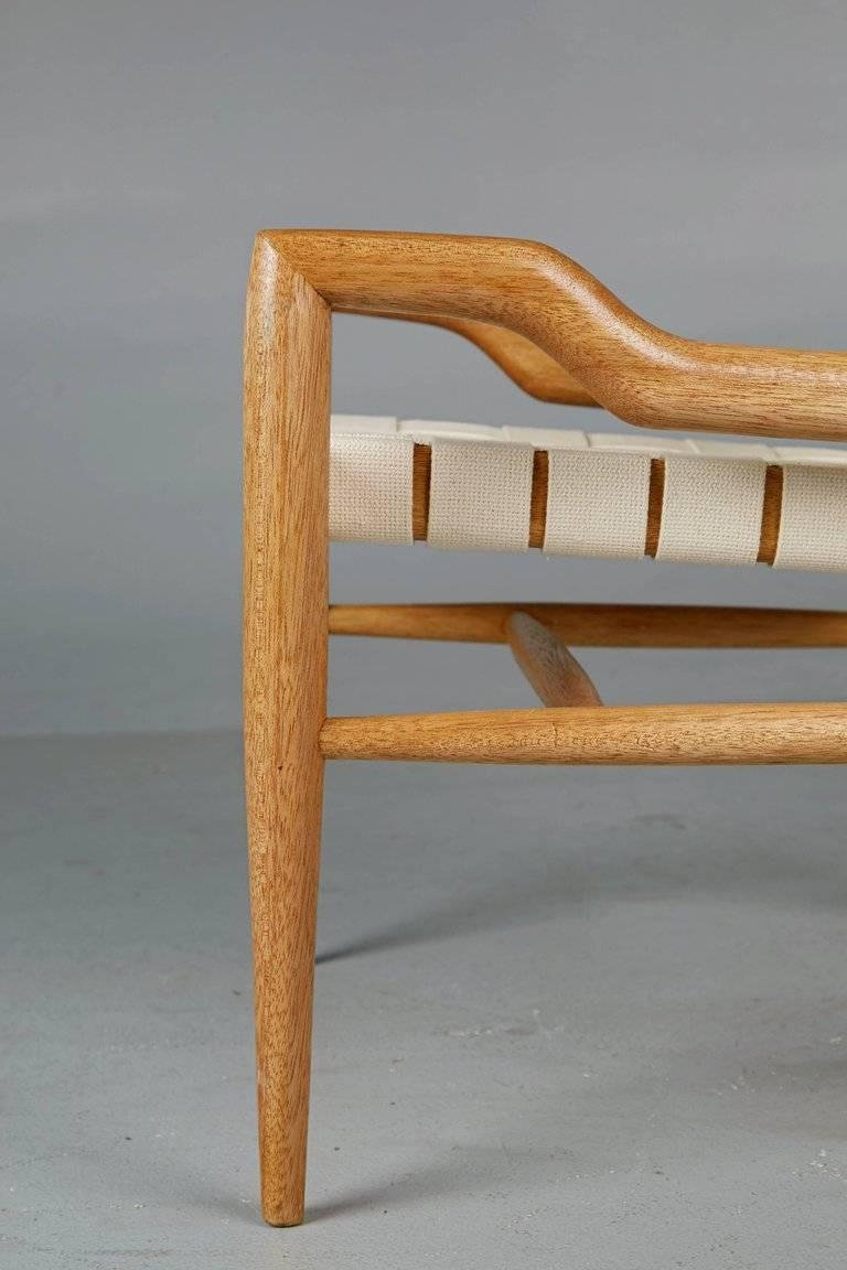 Pair of John Keal for Brown Saltman Sculptural Lounge Chairs, circa 1954 For Sale 2