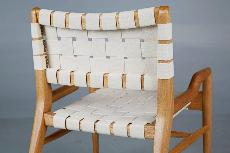 Pair of John Keal for Brown Saltman Sculptural Lounge Chairs, circa 1954 For Sale 3