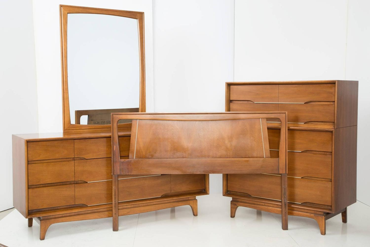 Seasonal Deal Danish Modern Mid Century Headboard Kent Coffey At 1stdibs