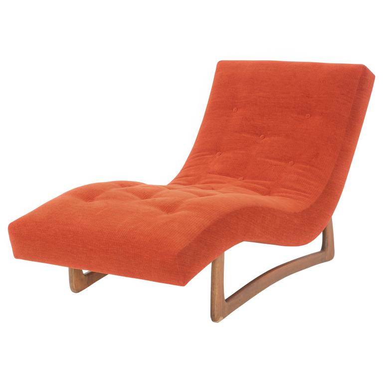 Adrian Pearsall Contour Wave Lounge Chair At 1stdibs