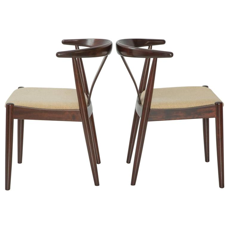 Designer Armchairs Sale Pair Of Dyrlund Danish Modern Arm Chairs For Sale At 1stdibs