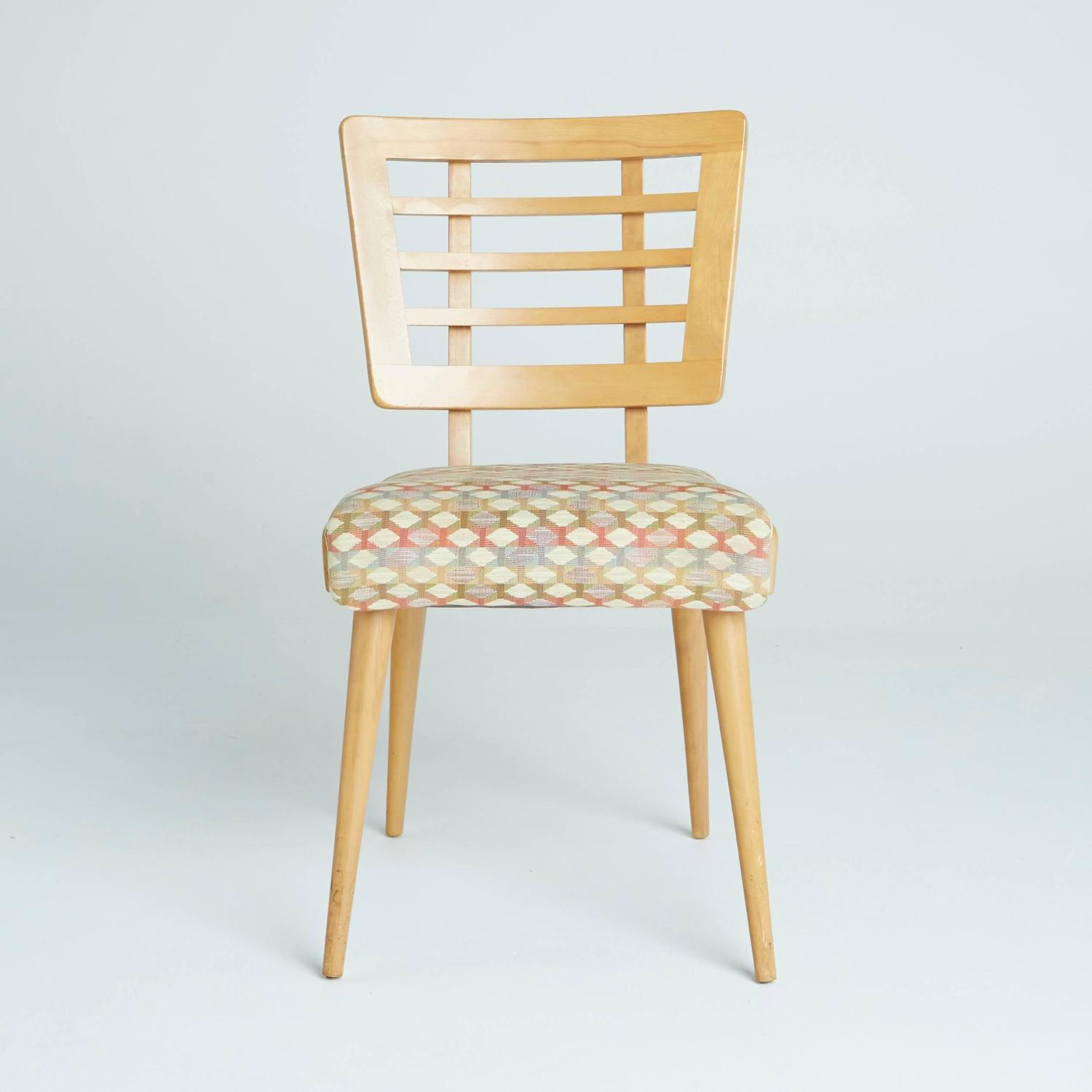 1950s American Modern Maple Dining Chairs at 1stdibs