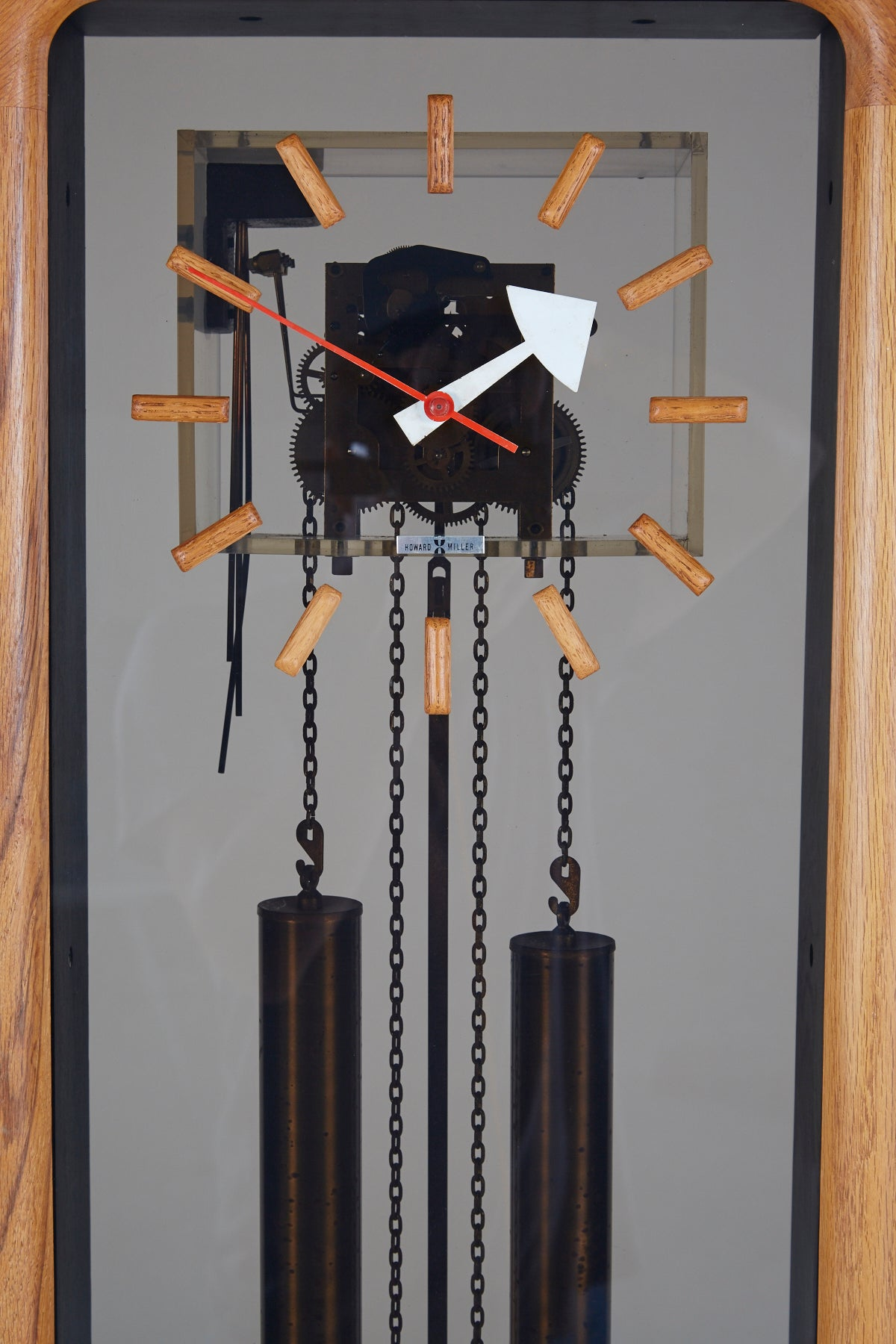 George Nelson For Howard Miller Grandfather Clock, Circa 1950 For Sale At  1stdibs