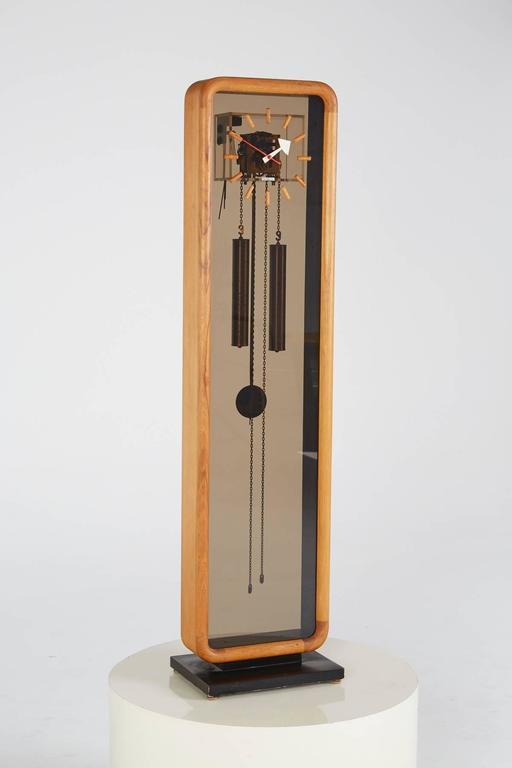 george nelson for howard miller grandfather clock circa 2 - Howard Miller Clocks