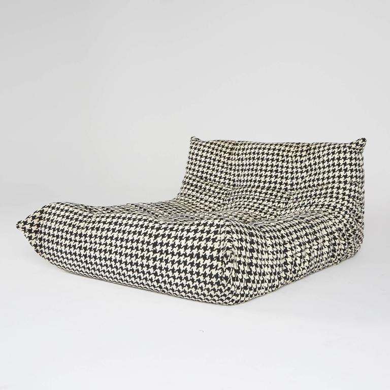 alcantara togo chaise lounge by michel ducaroy for ligne roset at 1stdibs