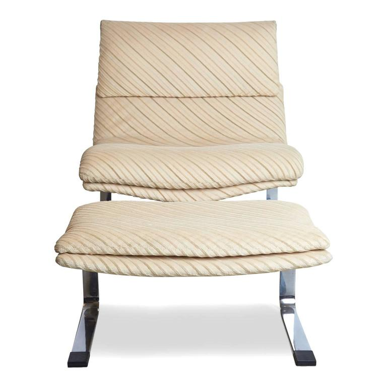 Missoni Home Lounger Chair Jalamar: Onda Chair And Ottoman In Missoni Fabric By Giovanni