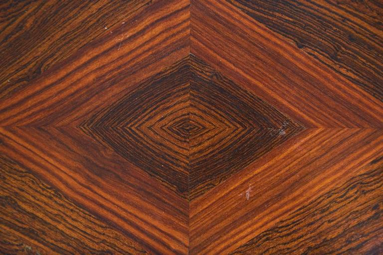Don Shoemaker Cocobolo, Rosewood Inlaid Trays for Señal, circa 1970 For Sale 2