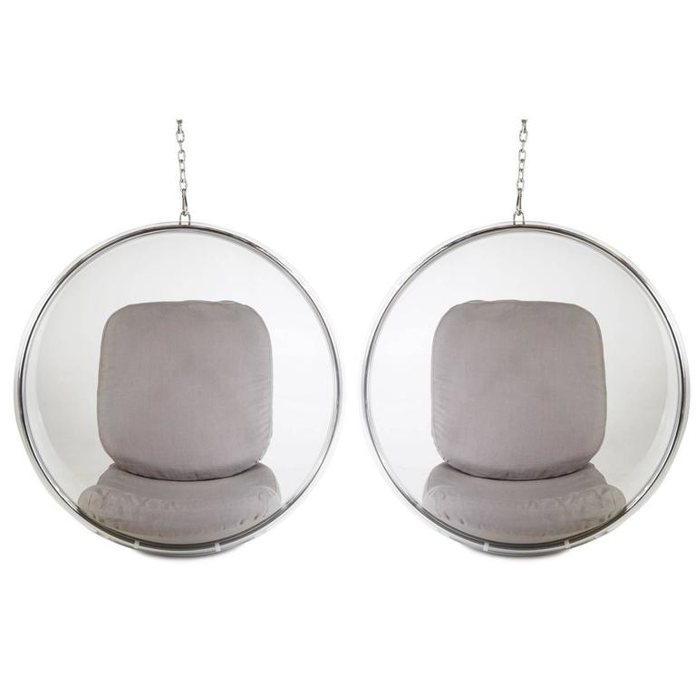 eero aarnio hanging bubble chair one 1 available at 1stdibs. Black Bedroom Furniture Sets. Home Design Ideas