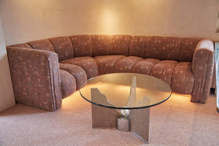 Custom Memphis Coffee Table by Steve Chase from Chase Designed Home, Circa 1980 For Sale 1