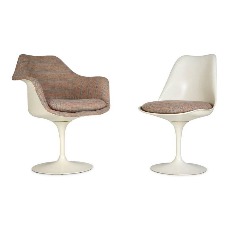 Eero Saarinen His and Hers Tulip Chairs for Knoll International, circa 1970